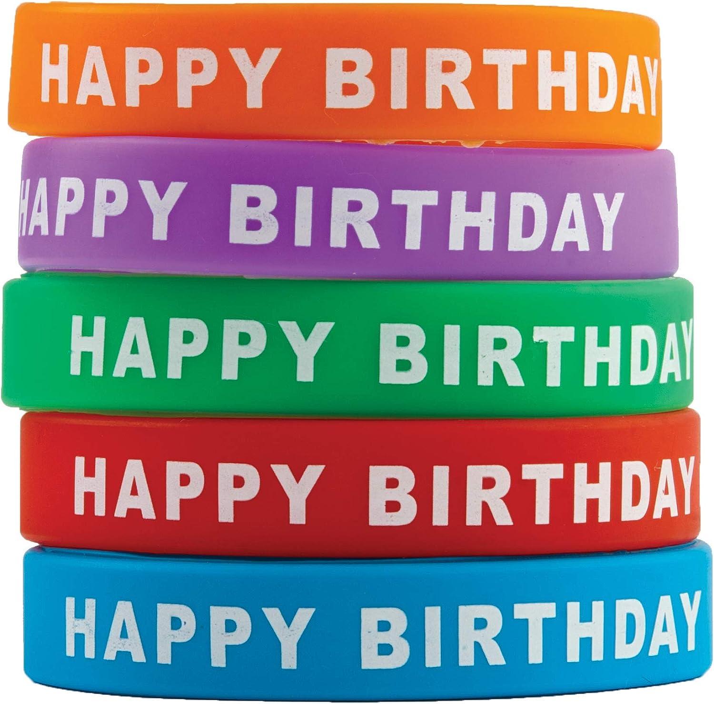 Amazon Com Teacher Created Resources Happy Birthday Wristbands
