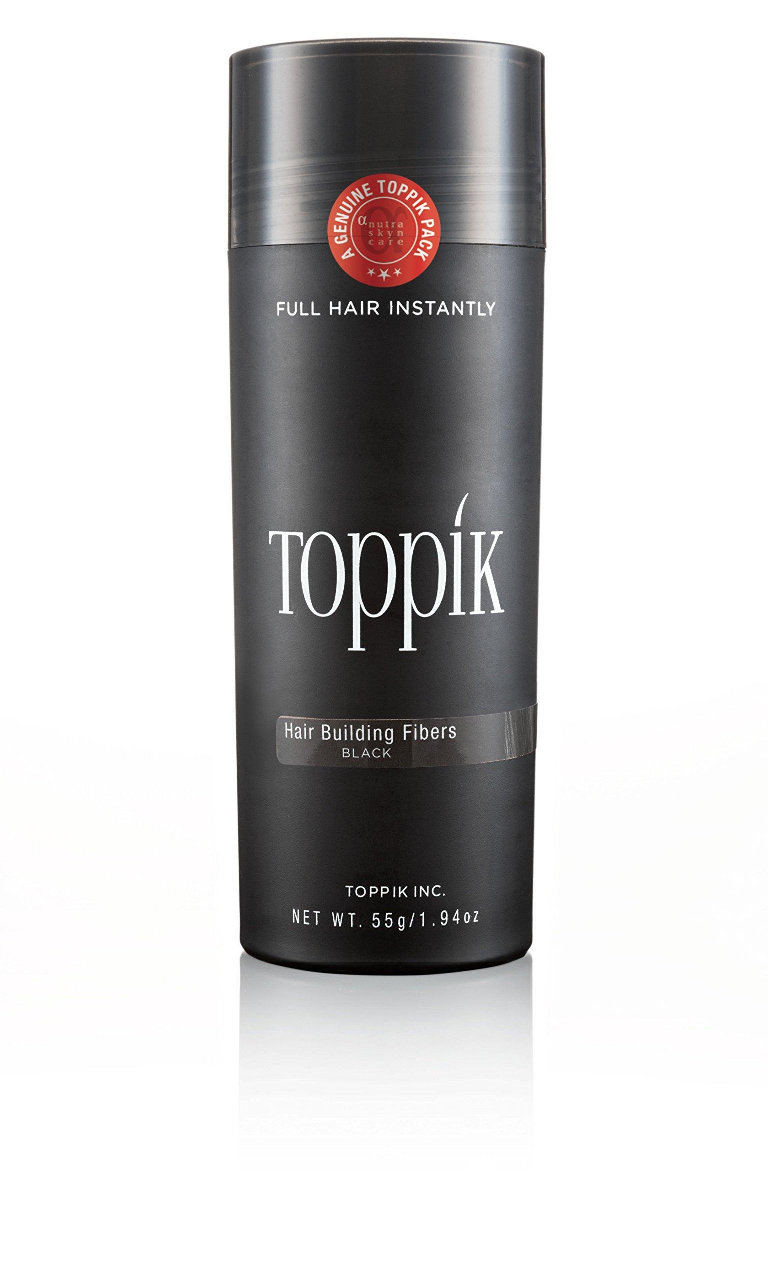 Toppik Hair Building Fibers- Black, 55gm