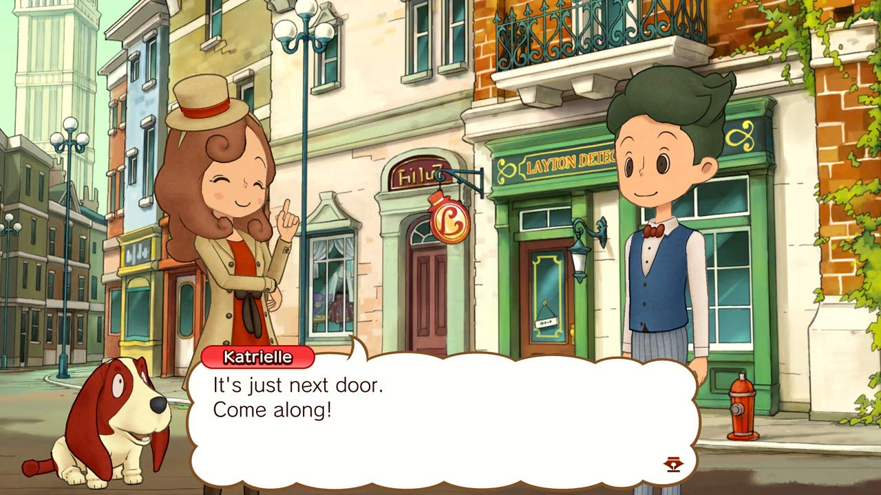 LAYTONS MYSTERY JOURNEY: Katrielle and the Millionaires Conspiracy -Deluxe Edition for Nintendo Switch USA: Amazon.es: Nintendo of America: Cine y Series TV