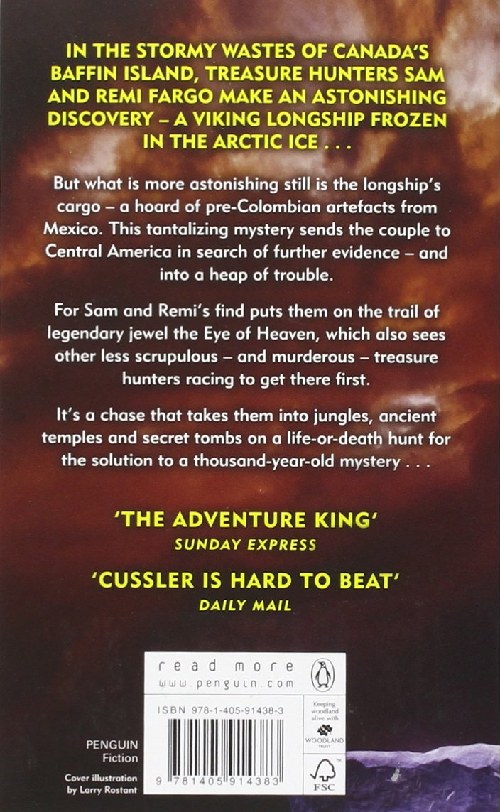 The Eye of Heaven: Fargo Adventures #6: Amazon.co.uk: Clive Cussler,  Russell Blake: 9781405914383: Books