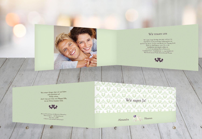 Kartenparadies Hochzeitskarte Hochzeitskarte Hochzeitskarte Einladung Ornament mit Herz, hochwertige Einladung zur Heirat inklusive Umschläge   10 Karten - (Format  215x105 mm) Farbe  Rosadunkellila B01NBWFM8S   Zürich    Bekannt für seine schöne Qualität    Sale Düsseldorf  3b2365