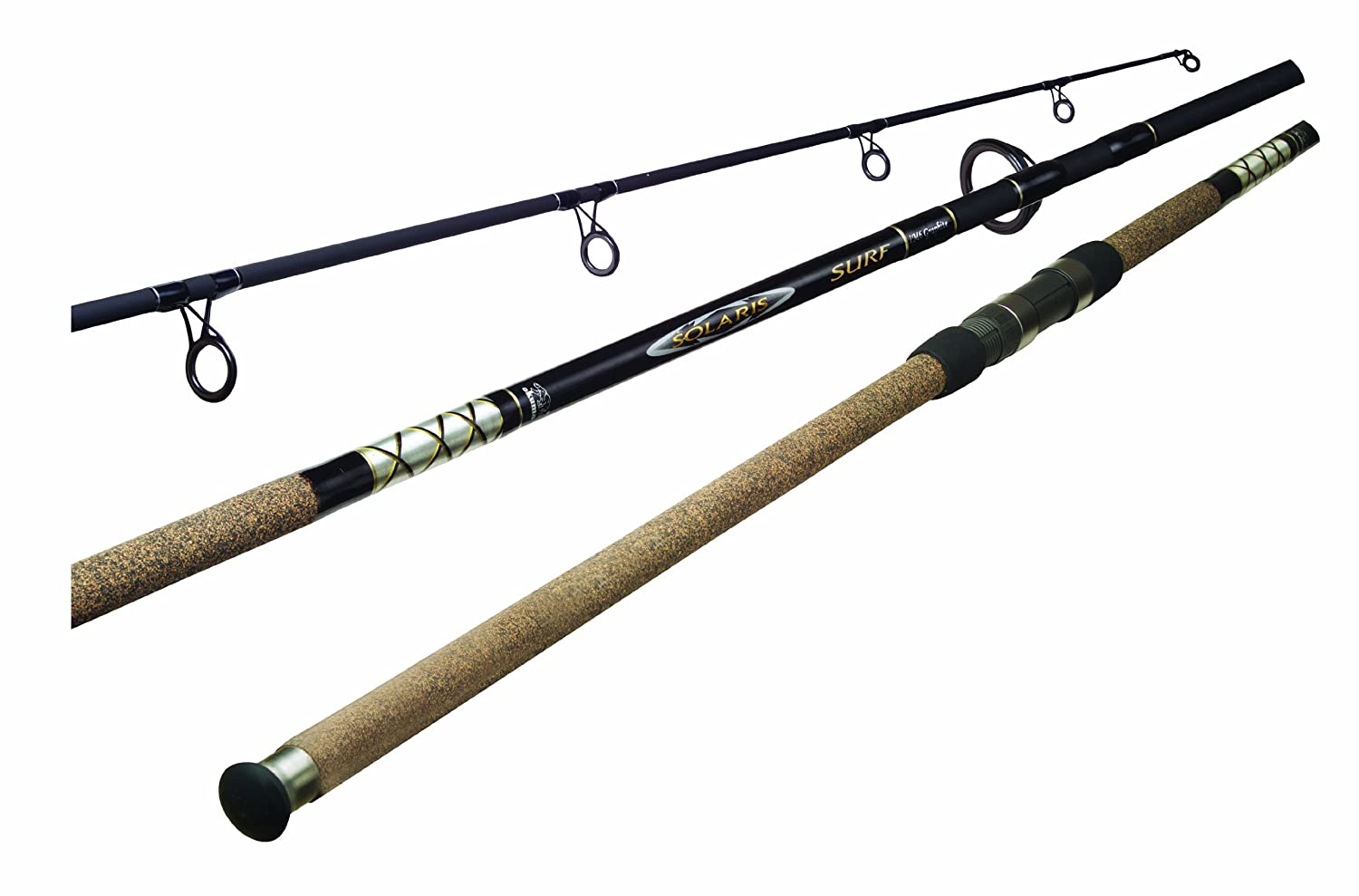 Okuma s Solaris Surf Fishing Rods-SS-S-1202MH-1 Black, 12-Feet