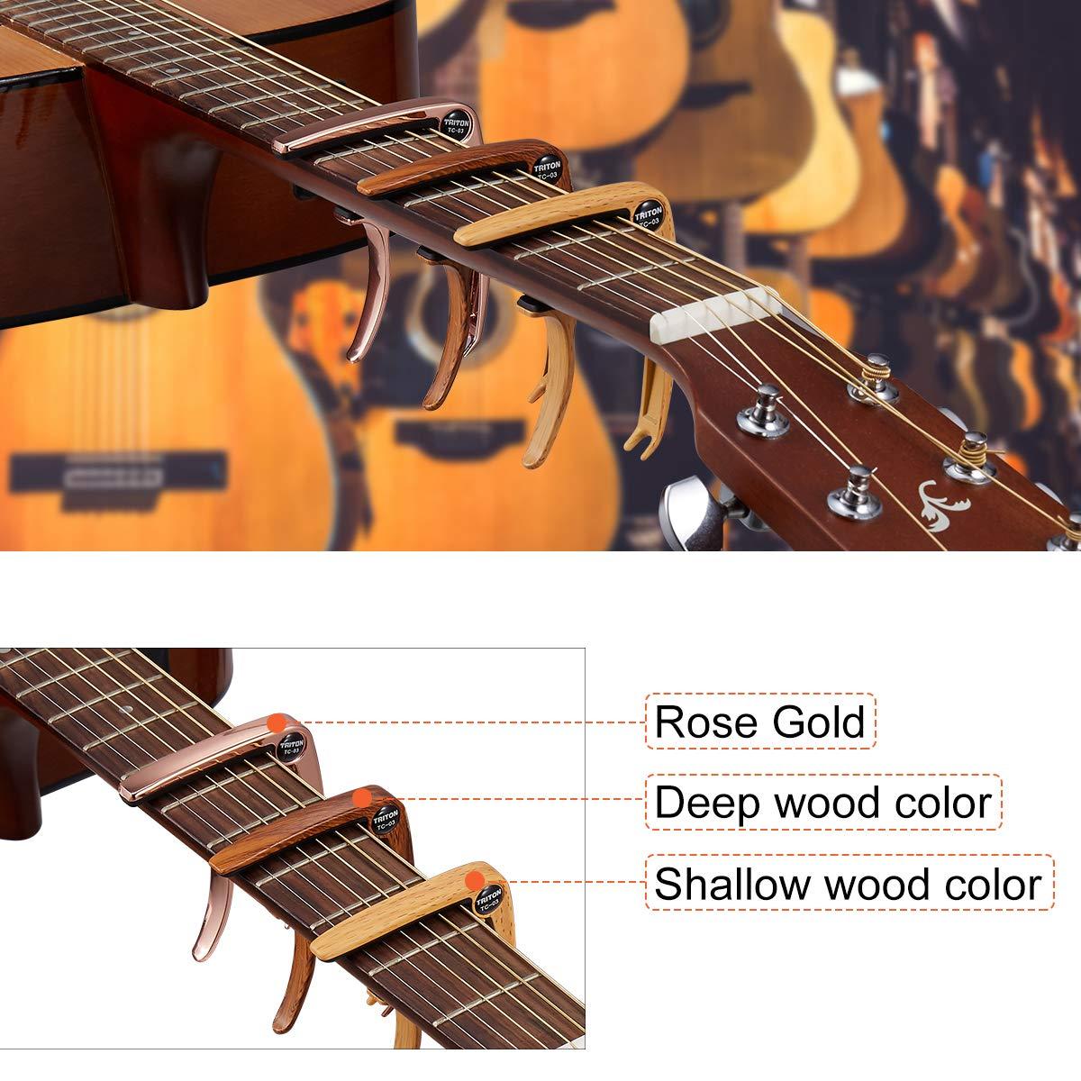 La cejilla mejorada de EnYL es aplicable para guitarra, bajo y ...