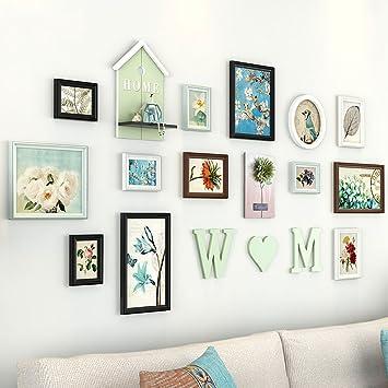 Large Multiple Photo Frames Wall Set 13 Pieces Set, 195 * 394cm ...