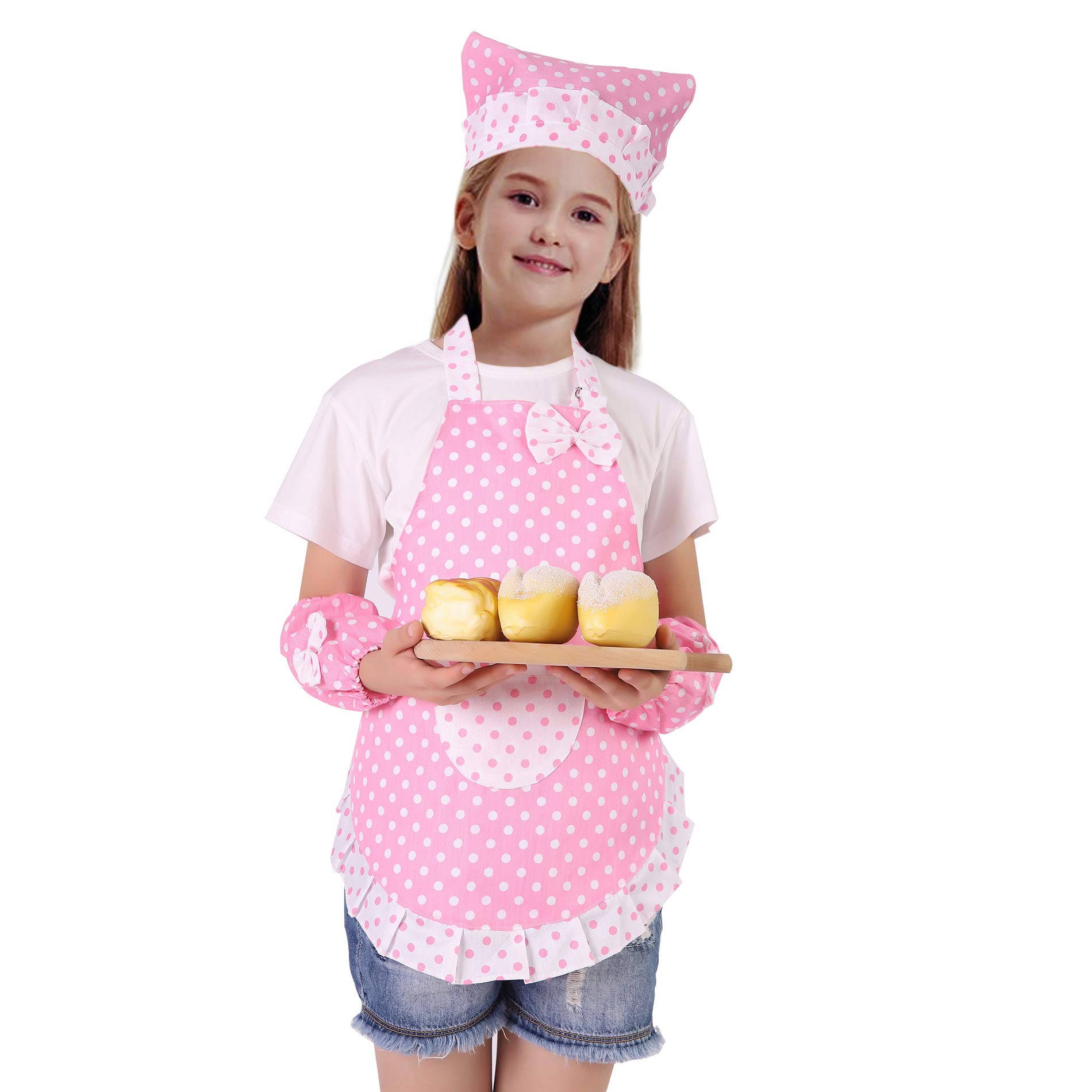 Apron set for children