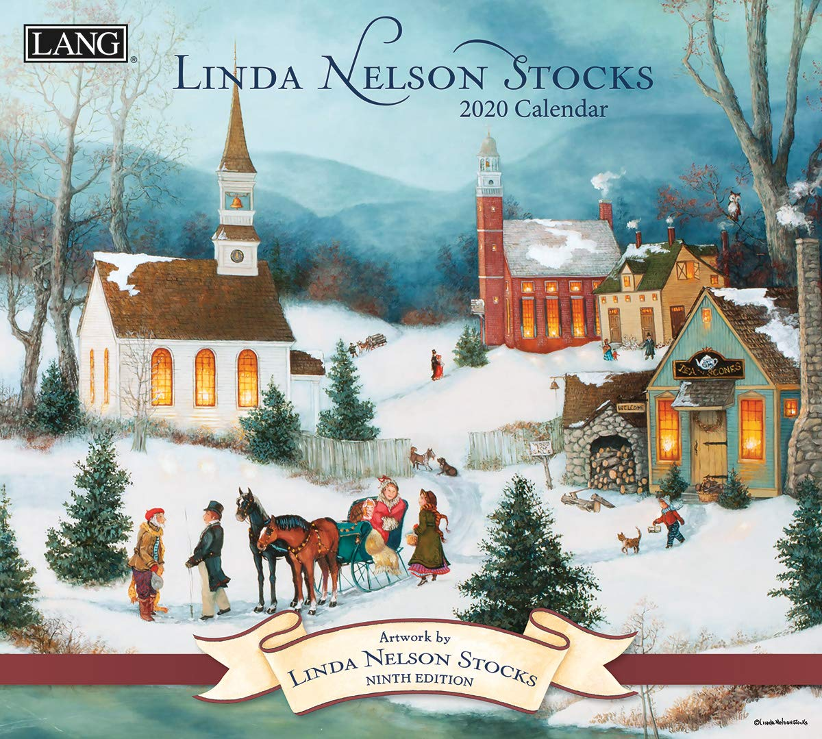The LANG Companies Linda Nelson Stocks 2020 Wall Calendar (20991001924) by The LANG Companies