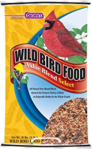 F.M. Brown'S Wild Bird Food, 20-Pound, Value Blend Select Poly-Woven Bag