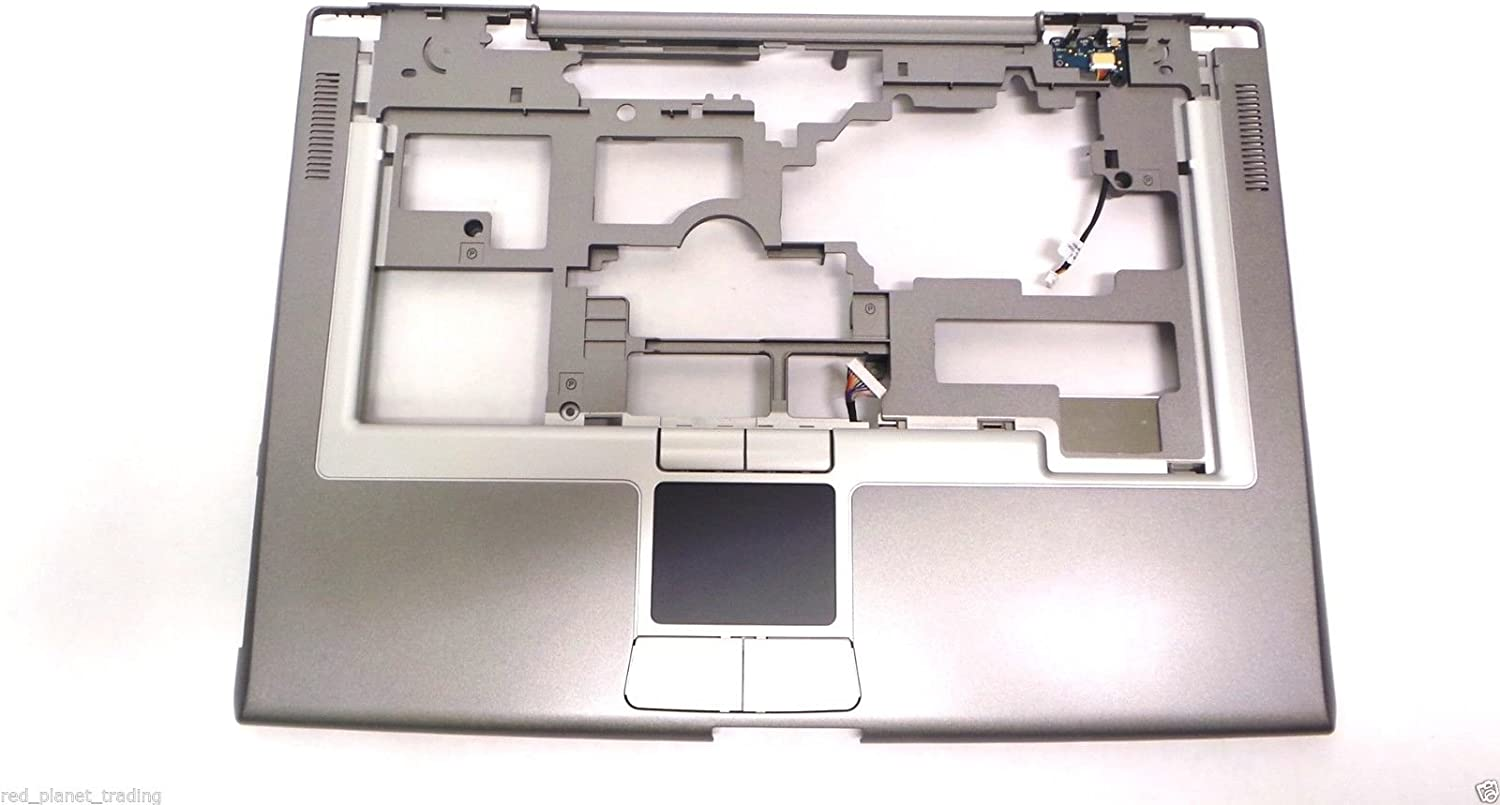 Genuine Dell Latitude D810 Precision M70 Palrmest Notebook Laptop Plastic Cover Touchpad Trackpad Base Assembly Compatible Part Numbers: NF396, 0NF396