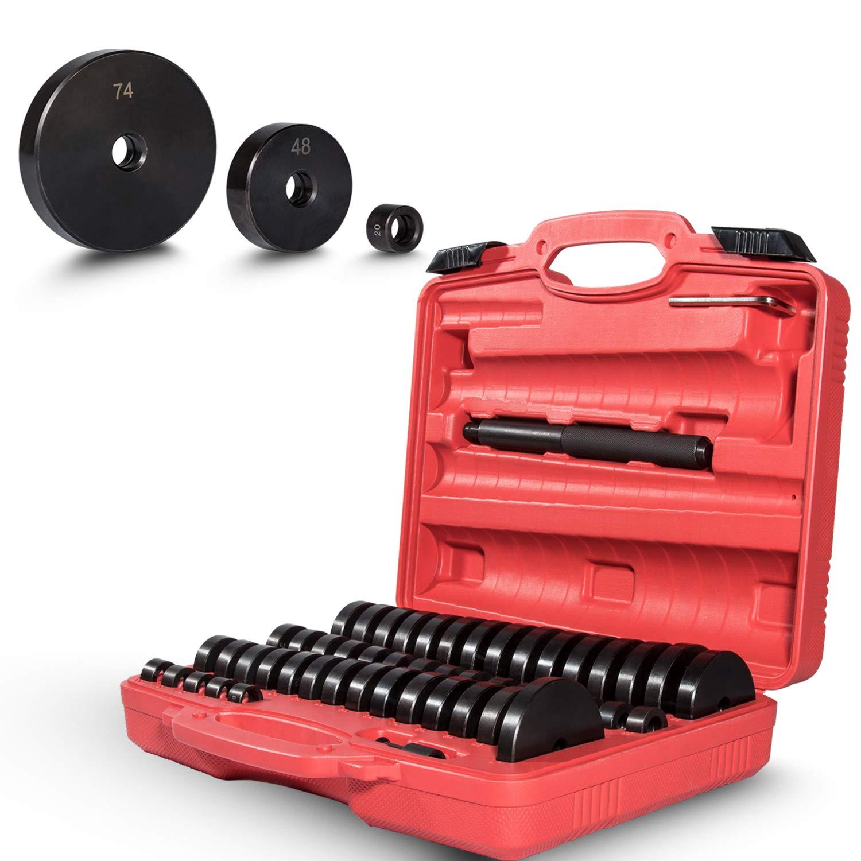 Yoursme 52 Piece Bushing Seal Driver Set Bearing Bush Removal Install Tool Kit
