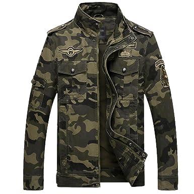 Camouflage jacke herren grau