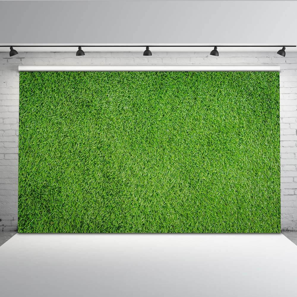 mehofotoカスタマイズされたフットボールフィールド写真バックドロップ7 x 5ftサッカーボールグリーン写真の背景幕シンシームレスなビニールフォトブース背景の写真家   B07BXZ1GBY