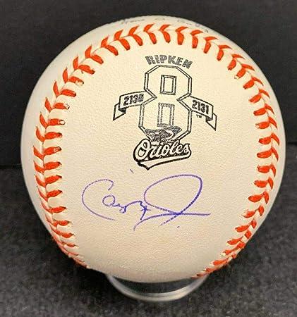 a48f9196d2a Cal Ripken Jr. Signed Ball - Official Commemorative Cert - JSA Certified - Autographed  Baseballs
