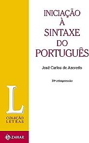 Iniciação à sintaxe do português (Letras)