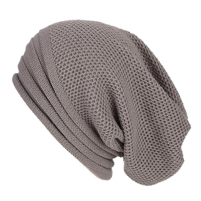 Odejoy Cappello Inverno Berretto in Maglia Cappelli Eleganti per Uomo e  Donna Moda Cappello Con Cappello 1884cb37fddd