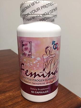 Femina (phytoestrogen Formula) Support Menopause symptons Dietary supplemente 60 Capsules para Los sintomas de