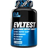 Evlution Nutrition Testosterone Booster for Men, EVLTEST Supports Healthy Testosterone Levels, Hormone Balance, Muscle Streng