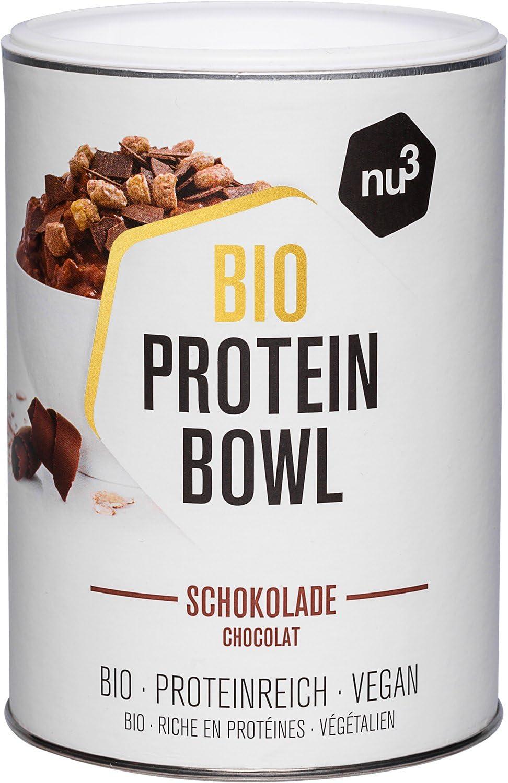 nu3 Protein Bowl orgánico sabor chocolate - 300g de gachas de avena sin gluten - Desayuno nutritivo 100% vegano - Sin azúcar o saborizantes ...