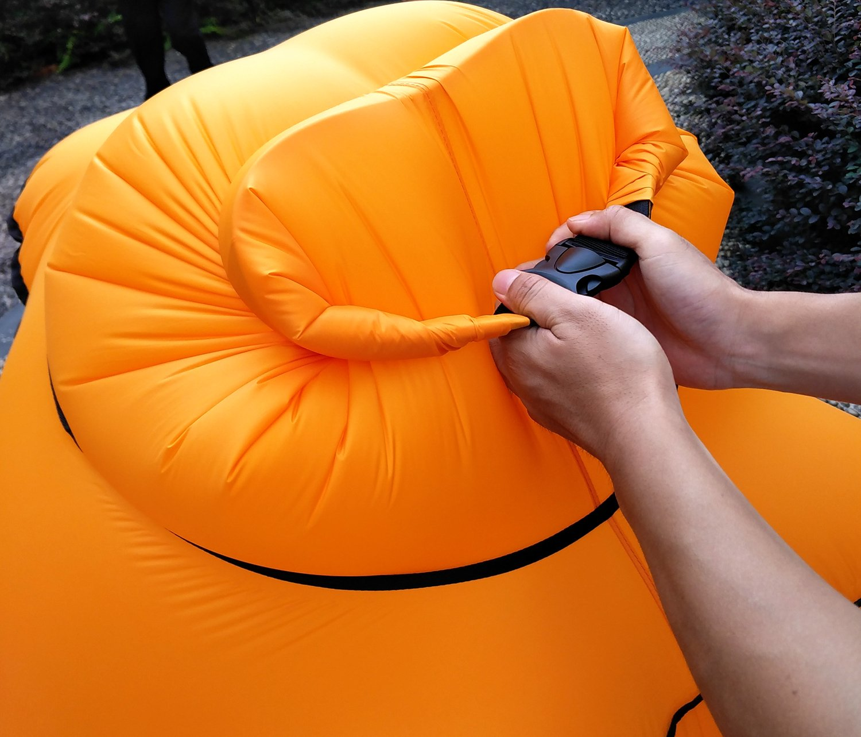 Pouf // canap/é ultra-l/éger Fauteuil gonflable Beautrip pique-niques et festivals camping En nylon Id/éal pour int/érieur et ext/érieur