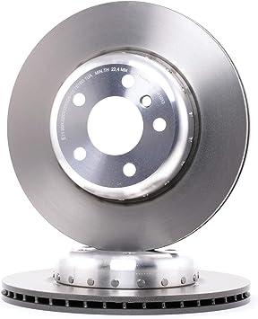 BREMBO 09.C409.13 Bremsscheibe Scheibenbremsen Bremsscheiben x2