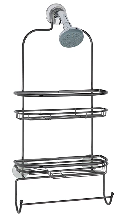 Amazon.com: Taymor Shower Caddy, Black Chrome: Home & Kitchen