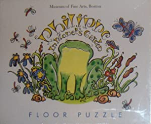 Philippe in Monets Garden Puzzle ~ Floor Puzzle
