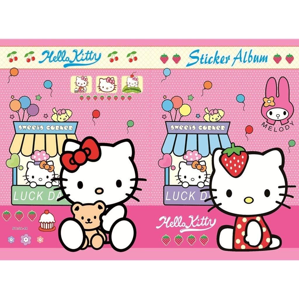 Animado Historieta De Madera Rompecabezas De Hello Kitty ...
