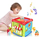 LAGERFEY Early Learning Shape Sorter Baby Toys 6 to 12 Months Educational Music and Light Baby Toys 12 to 18 Months Activity