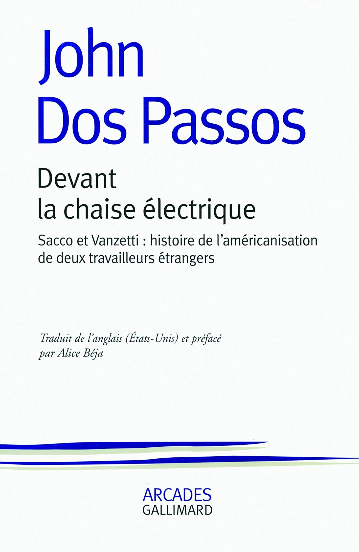 Amazon.fr - Devant la chaise électrique: Sacco et Vanzetti