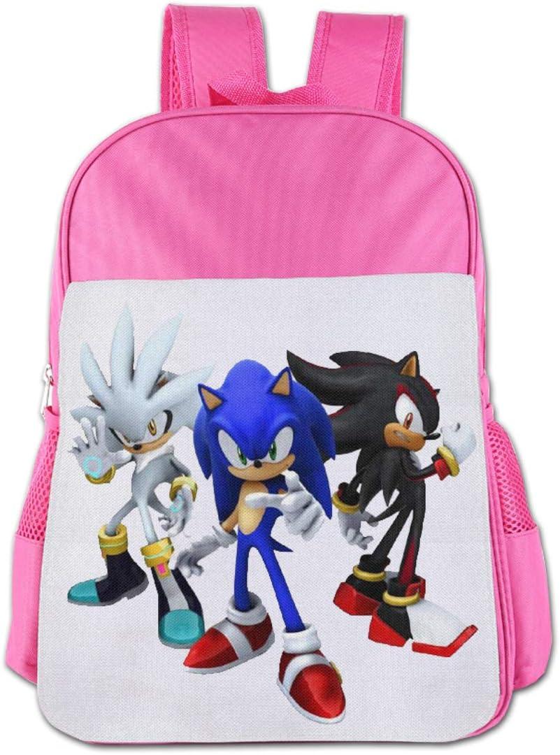 So-Nic The Hedg-Ehog School Backpack Student School Bag Child Book Bag