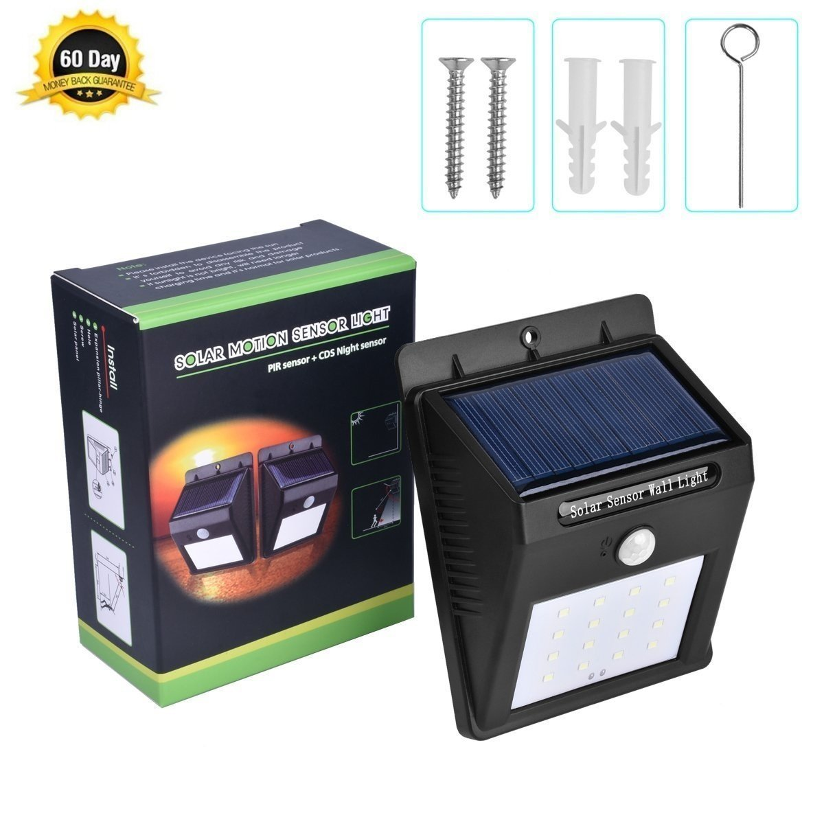 Anfei Garden Lights Solarsolar Pir Motion Sensor 16 Solar Pin Circuit On Pinterest Energy Powered Outdoor Bright Light
