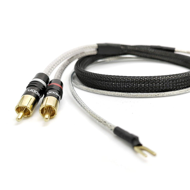 Cable de Audio RCA NF/Cable de Audio estéreo de Alta fidelidad ...
