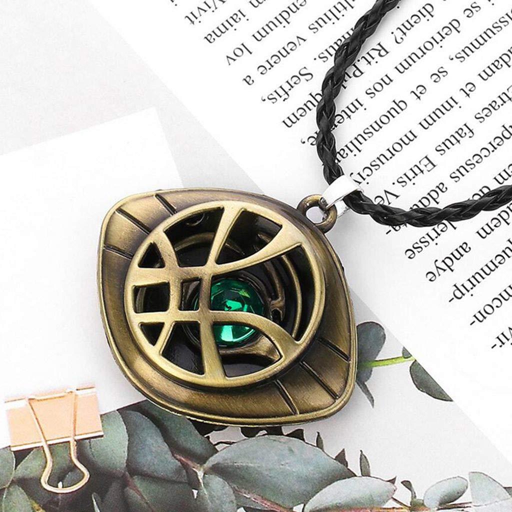 baoshihua Collier avec Pendentif /œil dagamotto Docteur /étrange Bijoux pour f/ête costum/ée