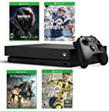 Xbox One X Super Bonus Bundle - Includes - Xbox One X 1TB Console, Controller, Madden NFL 17, Fifa 17, Mass Effect Andromeda and Titanfall 2