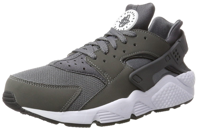 Grau (Dark Gre Dark Gre-Weiß-schwarz) Nike Herren Air Huarahe Turnschuhe