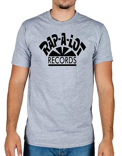8758676a9d5 Amazon.com  Ulterior Clothing Rap A Lot Records T-Shirt Black  Clothing