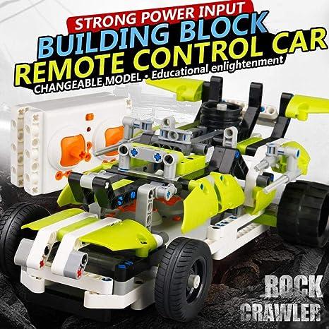 Amazon com: Hisoul 371PCS Green Python DIY RC Car 2 4GHz 1