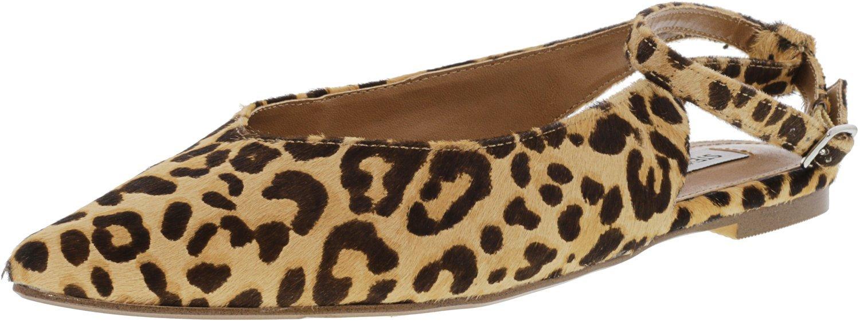 04d66f18a10 Steve Madden Women's Cupid Haircalf Flat Shoe