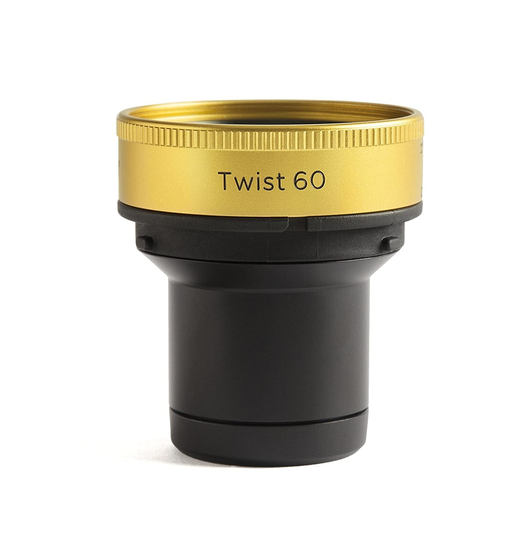 Lensbaby Twist 60 - Objetivo Creativo para Canon EOS (60 mm, f/2.5) Color Negro LB-7C