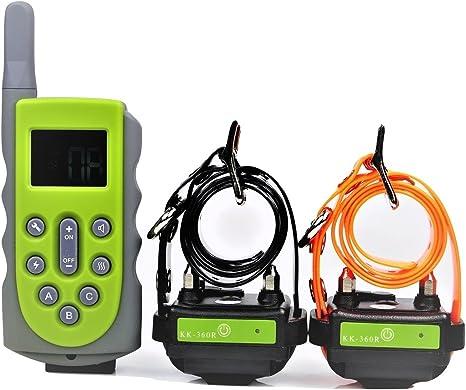 Dog Training Shock Collars KOOLKANI® 650 Yard Remote Waterproof Rechargeable 2