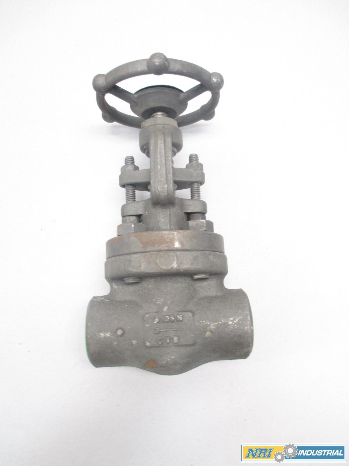 NEW BONNEY FORGE HL 31 1 IN STEEL SOCKET WELD GLOBE VALVE D478398