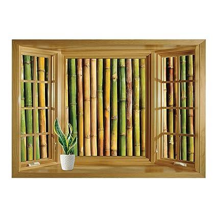 Unique Bamboo Window 5