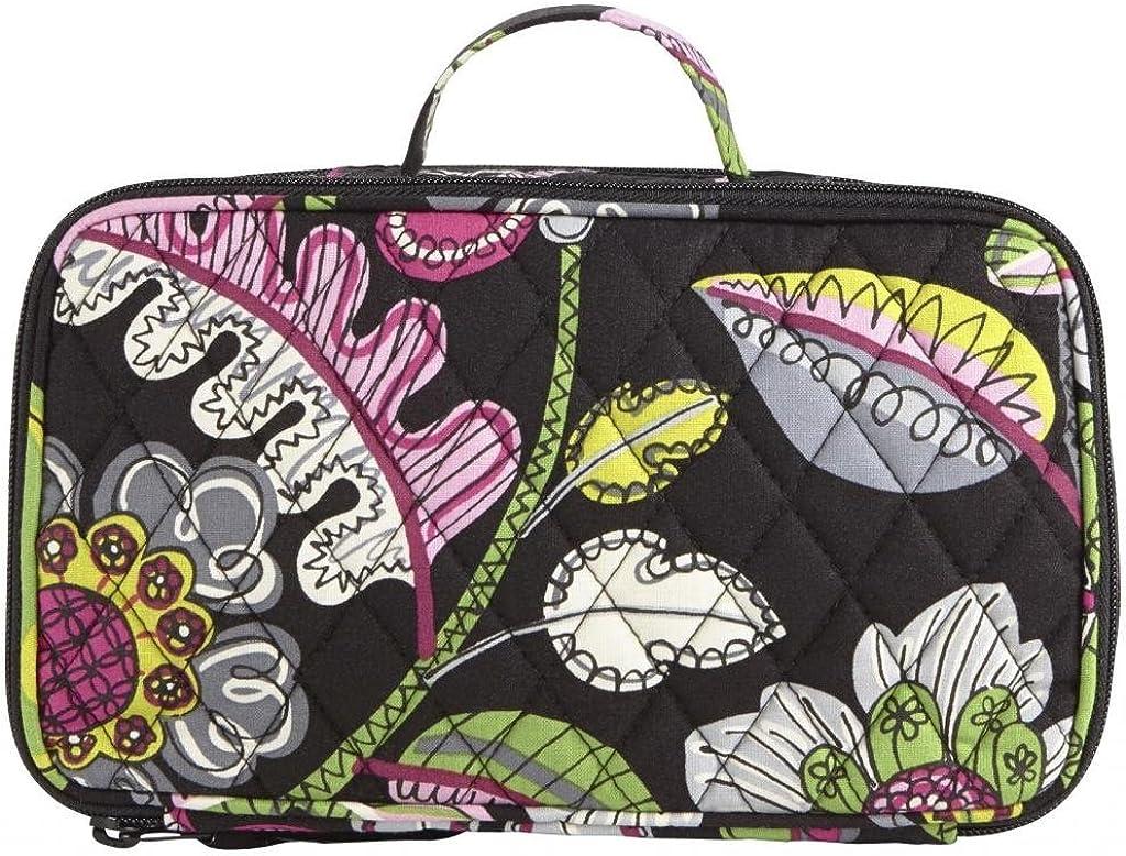 Vera Bradley Luggage Women s Blush Brush Makeup Case Moon Blooms Luggage Ac…