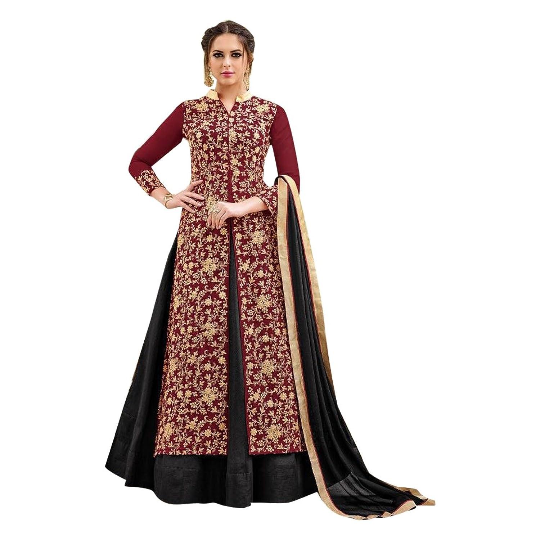 Indische Sitte, pakistanische Designer Anarkali Salwar Anzug Frauen ...