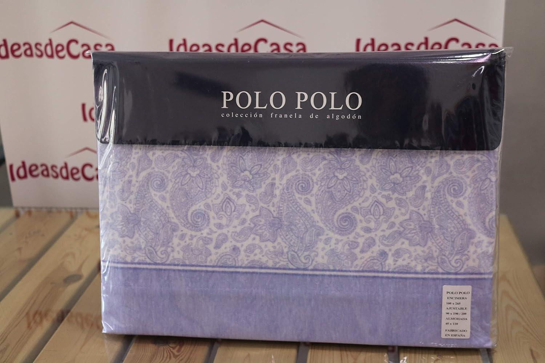 Polo Polo Juego de Sabanas de Franela Cama 90: Amazon.es: Hogar