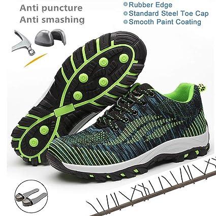 e6b9f12784d Amazon.com: Disnation 2019 Indestructible Men Safety Shoes, Work ...