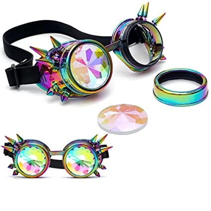 letter, Gafas de caleidoscopio, Fiesta Festival Rave Gafas ...