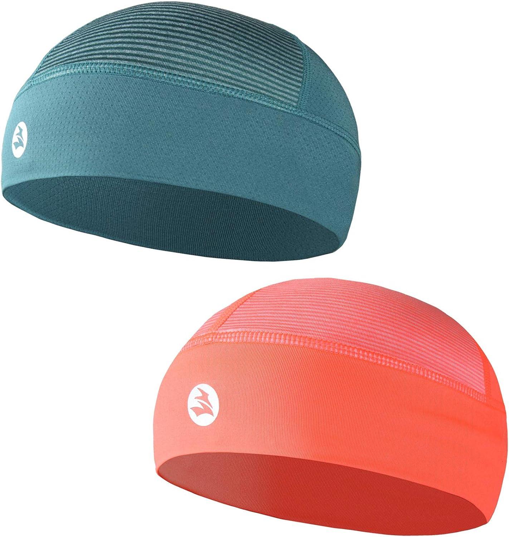 Low-Profile Cooling Helmet/Hard hat Liner, Strech Working Cap, Summer Sweat Wicking Skull Cap, Running Beanie Sun Protection