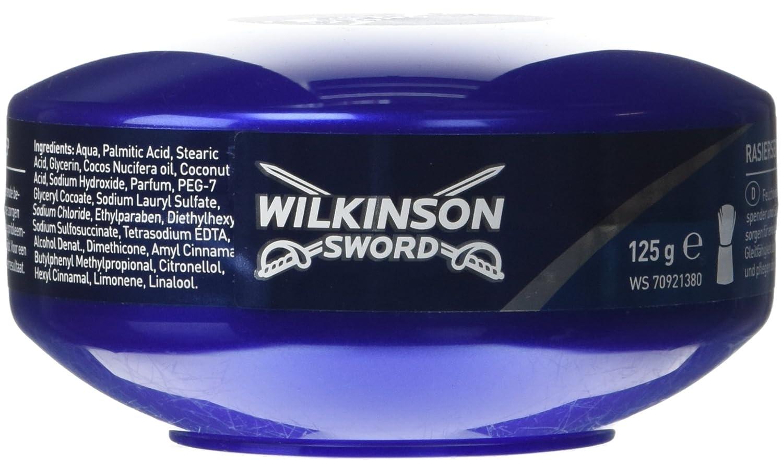 Wilkinson Sword - Jabonera con jabón de afeitar, 125 gr Edgewell 7000205D