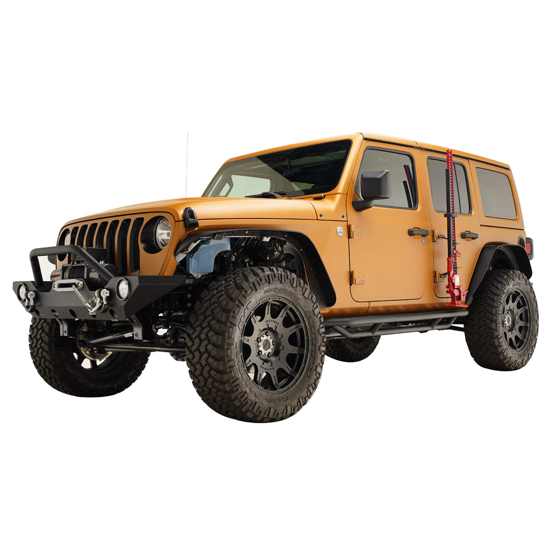 EAG 2007-2018 Jeep Wrangler JK Hi-Lift Jack Mount Hood Hinge Bracket