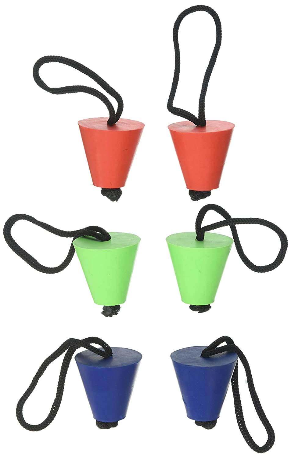 Renewed 4 Pack Perception Scupper Hole Plugs for Kayaks